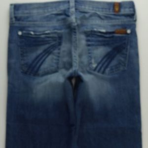 7 For All Mankind Jeans - 7 For All Mankind Crop Dojo Jeans Women's 26 B279
